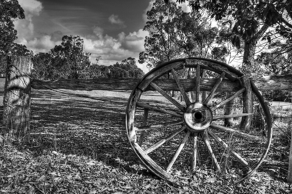 Wagon Wheel by Eve Parry