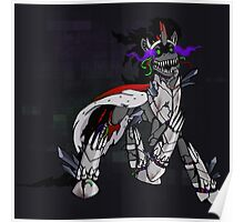 My Little Pony - MLP - FNAF - King Sombra Animatronic Poster