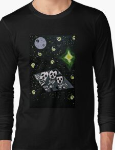 General Zod Day of the Dead Long Sleeve T-Shirt