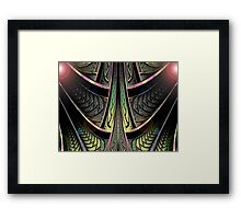 Dark Star Zoom  (UF0270)  Framed Print