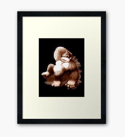 Hellenistic Donkey Kong Framed Print