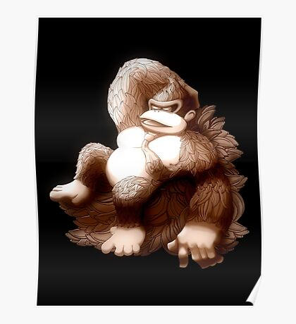 Hellenistic Donkey Kong Poster