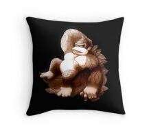 Hellenistic Donkey Kong Throw Pillow
