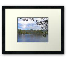 Lake Barrington, Tasmania, Australia Framed Print