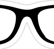 Nerd Glasses Sticker