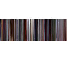 Moviebarcode: The Incredibles (2004) Photographic Print