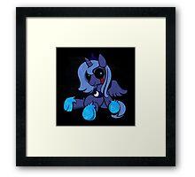 My Little Pony - MLP - FNAF - Princess Luna Plush Framed Print