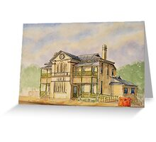 Old Sandgate Post Office Greeting Card