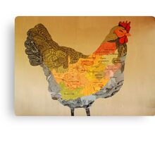south african chicken Canvas Print