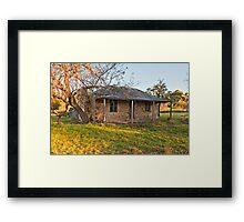 Morning at Denman's Cottage Framed Print