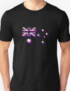 3D Australia Flag - Alternate T-Shirt