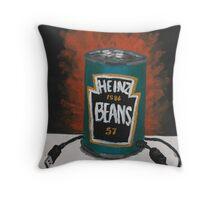 USB Beans Throw Pillow