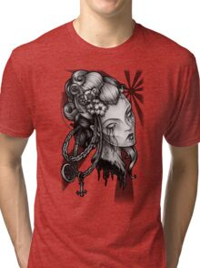 How Eyes Roll Tri-blend T-Shirt