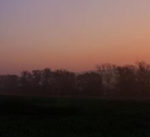 Panoramic Sunrise by Anthony Faulkner