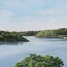 Georges River View by Freda Surgenor