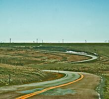 A Winding Road that Beckons Me to Roam by Bryan D. Spellman