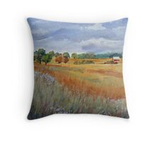 S. Ontario Farm Country (Canada) Throw Pillow