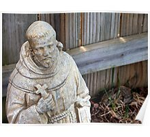 St. Francis & Friend Poster