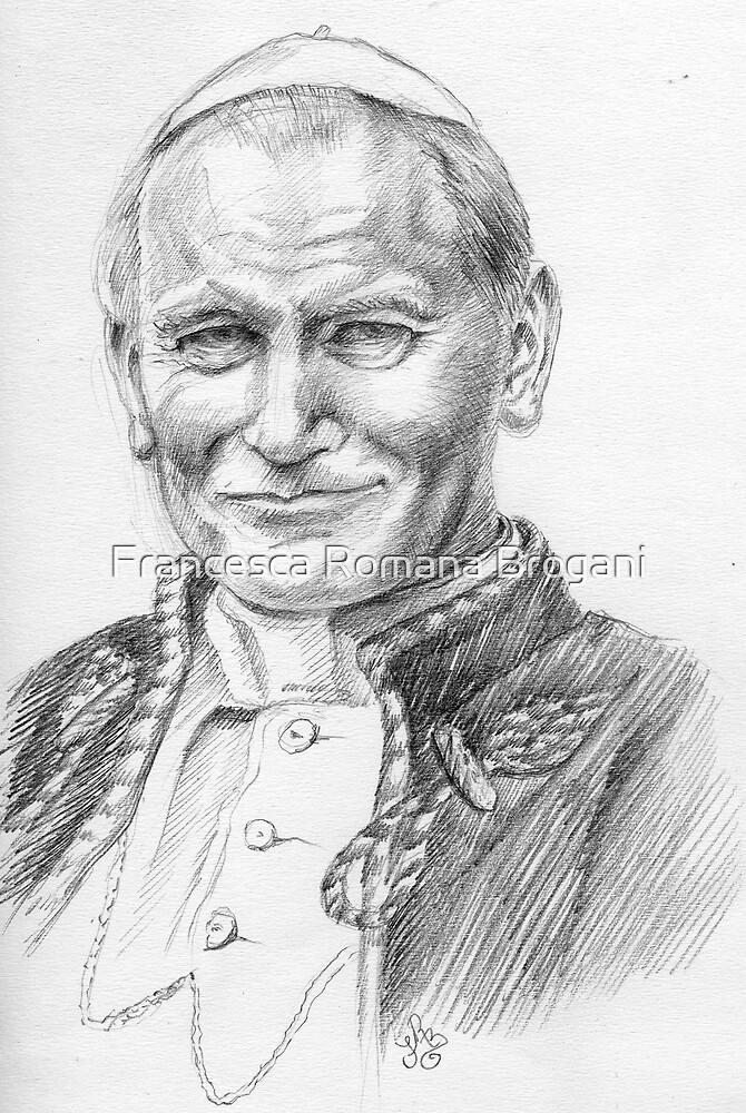 Pope John Paul II by Francesca Romana Brogani