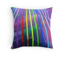 Colors In A Pouch Throw Pillow