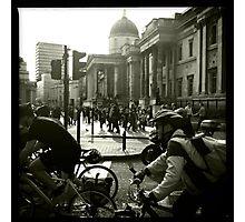 Bicycles, London Photographic Print