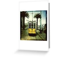 Tram, San Francisco Greeting Card