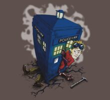 Dr Whorrible's revenge (red) Kids Clothes