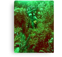 Eve Takes Control Canvas Print
