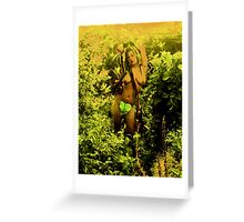 And As Eve Claimed Her Sexuality, Adam Hid... Greeting Card
