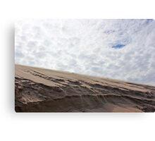 Drifting Sand, Restless Sky Canvas Print