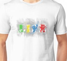 Paint Your Life With Colors Unisex T-Shirt