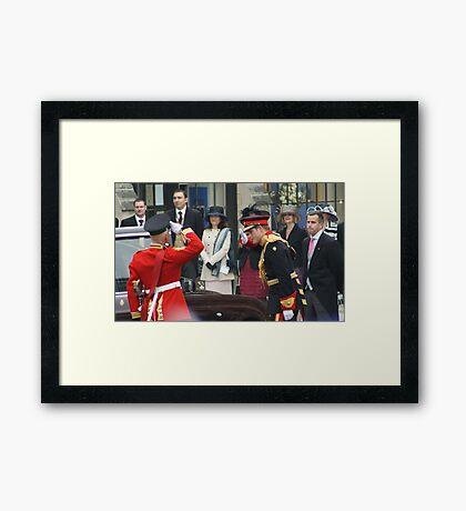 PRINCE HARRY  Framed Print
