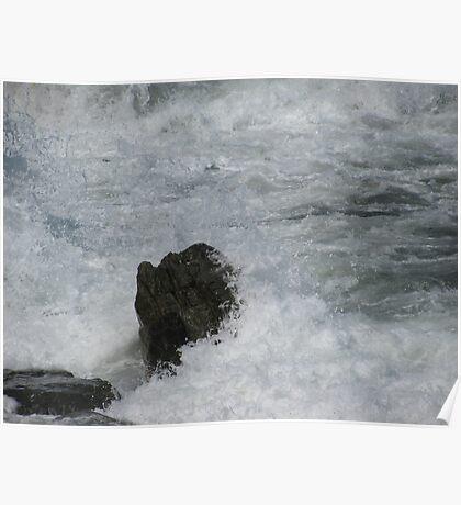 Castle Rock Water Art Poster