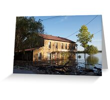 Flooded Dreams in Troy, indiana Greeting Card