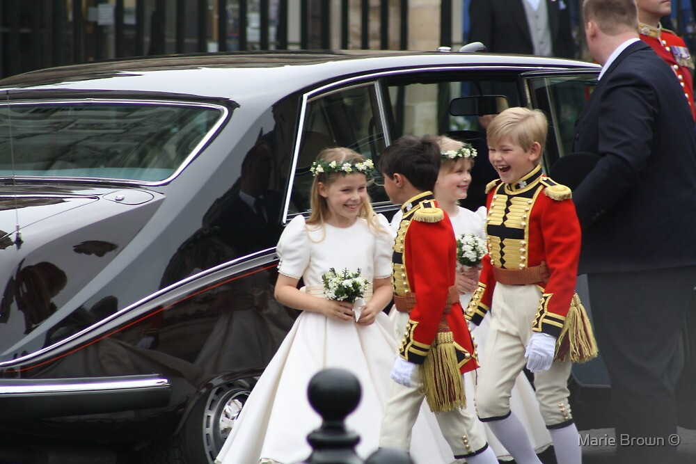 THE BRIDESMAIDS AND PAGE BOYS by Marie Brown ©