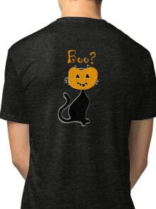 Ankle biters Halloween baby tee design Tri-blend T-Shirt