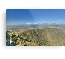 England's Highest Mountains Metal Print