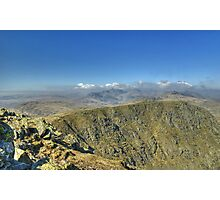 England's Highest Mountains Photographic Print