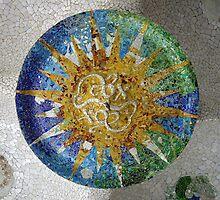 Gaudi's lucky penny by joeycastro