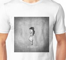 Girl with Necklace Unisex T-Shirt