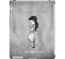 Girl with Necklace iPad Case/Skin