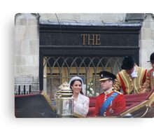 KATE AND WILLIAM  Canvas Print