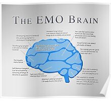 The Emo Brain Poster