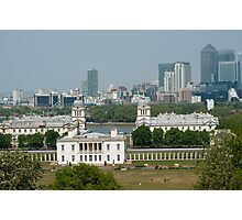 Greenwich Park View Photographic Print