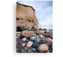 cliffs at silverstrand Canvas Print