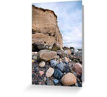 cliffs at silverstrand Greeting Card