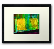 Alternate Reality 4-4 Framed Print