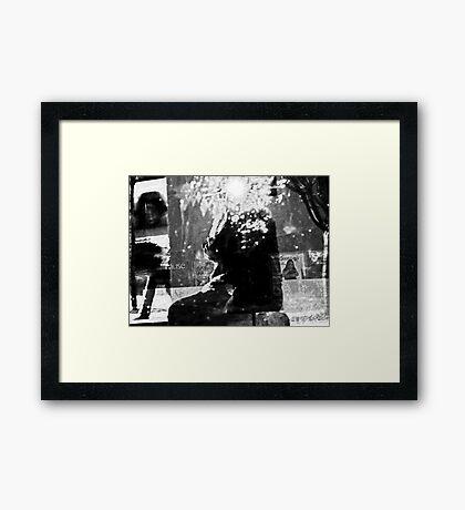 Alternate Reality-Self-Portrait Framed Print