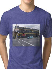 Cock 'n' Bull British Pub, Launceston, Tasmania, Australia Tri-blend T-Shirt