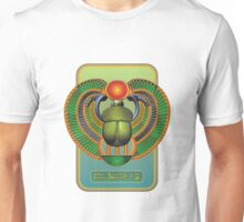 Egyptian Scarab - Good Happy Life  Unisex T-Shirt
